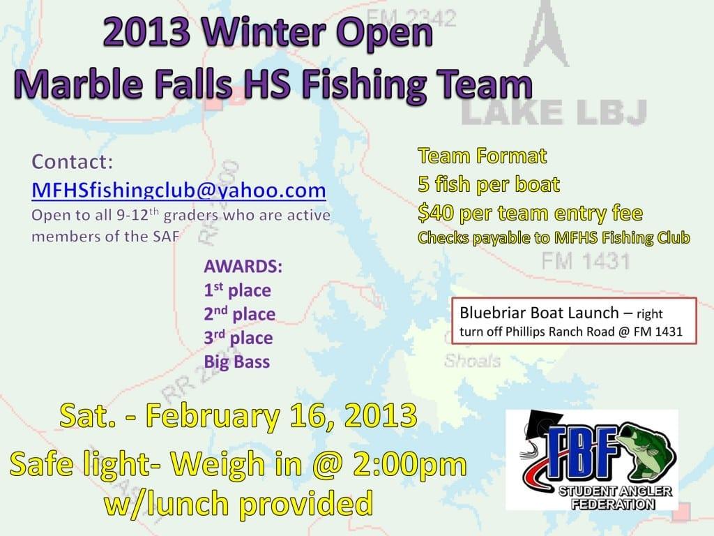 2013_Lake_LBJ_Open_Tournament