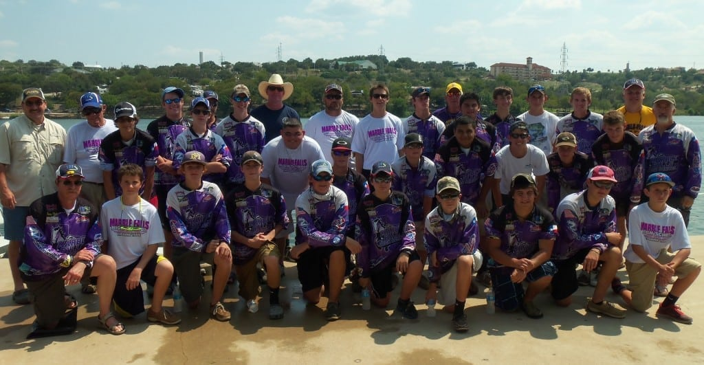 MFHS Bass Fishing Team 09-14-13