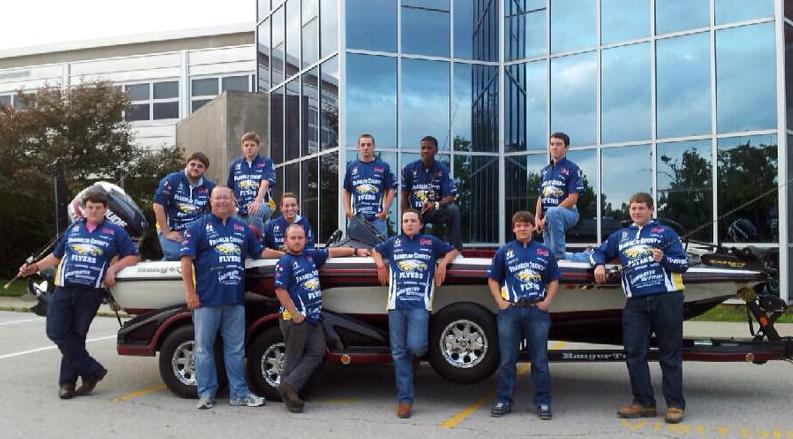 2013-FCHS-Bass-Fishing-Team