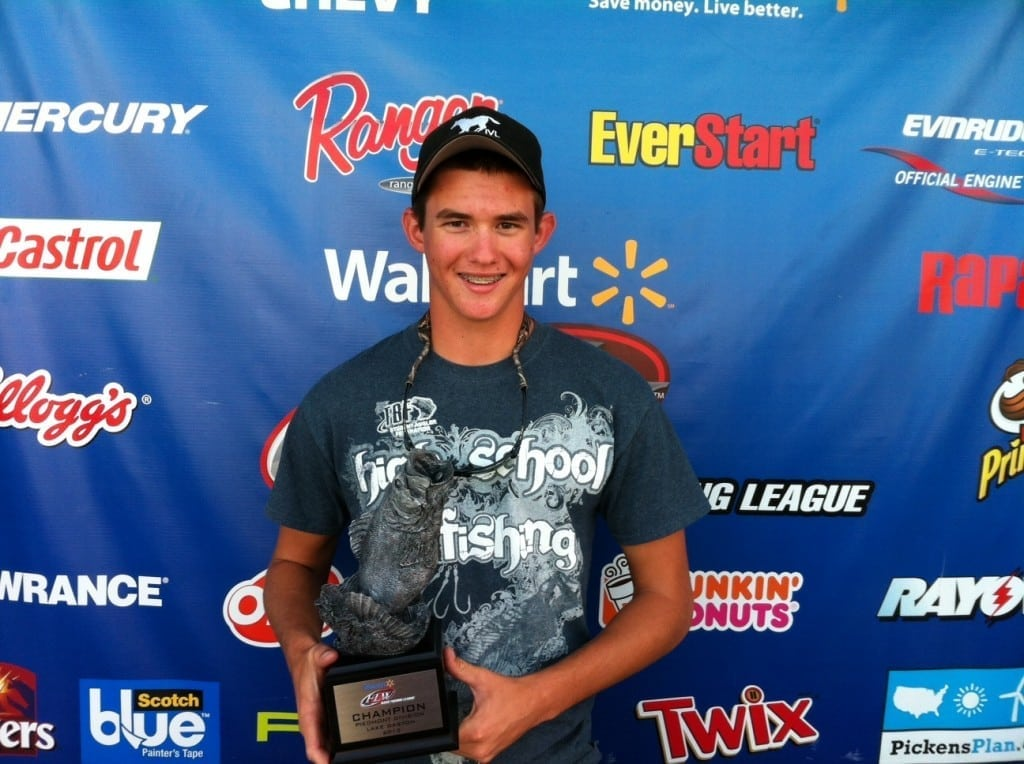 Co-angler Kristopher Queen of Catawba, N.C., won the Sept. 28-29 Piedmont Division Super Tournament on Lake Gaston with seven fish weighing 14 pounds, 5 ounces. He took home more than $2,500 for his efforts.